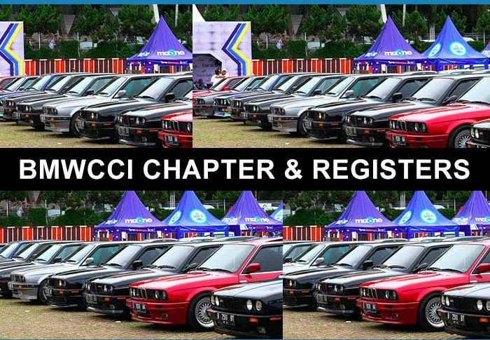 BMWCCI Chapters