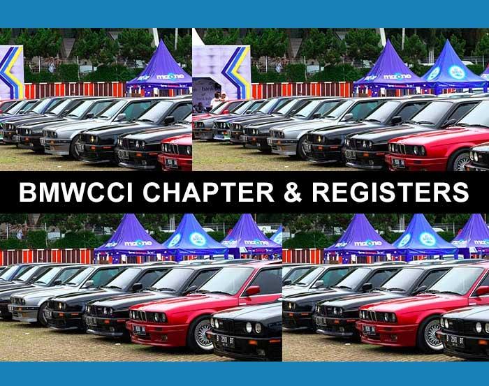 BMWCCI Chapters
