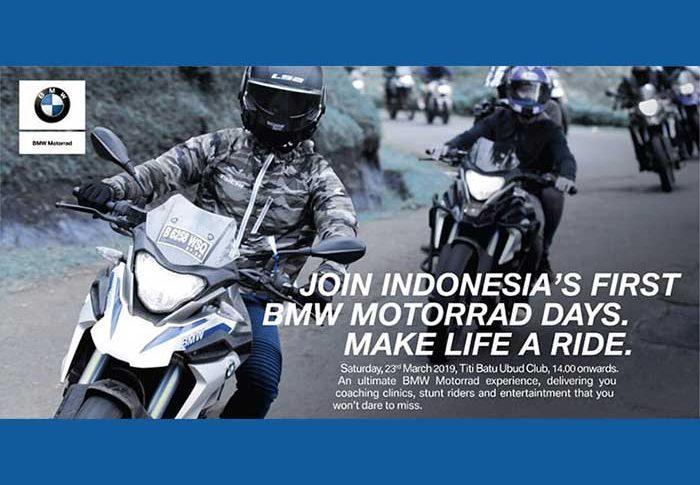 BMW Motorrad Days 2019 Indonesia