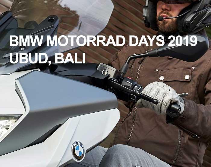 BMW Motorrad Days 2019
