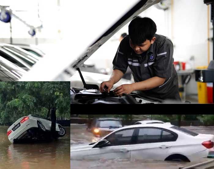 Layanan Darurat Banjir untuk Pemilik BMW